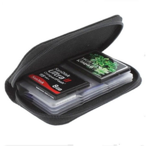 Image 1 - SD SDHC MMC CF Micro SD Memory Card Storage Carrying Pouch Case Holder Wallet
