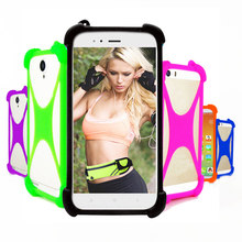 Para Digma HIT Q401 Q500 3G Caso Universal Bumper Tampa Do Telefone Silicone Macio Elástico Para Digma VOX A10 3G E502 4G Casos de Telefone