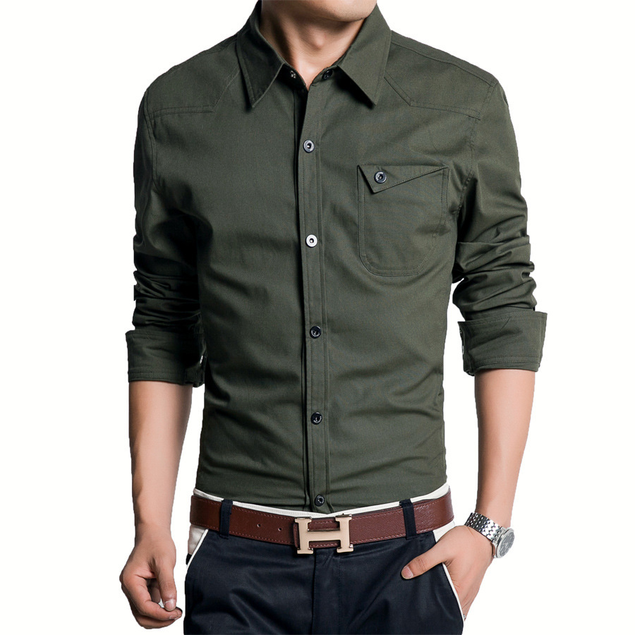 Online Get Cheap Mens Long Sleeve Linen Shirts Sale -Aliexpress ...