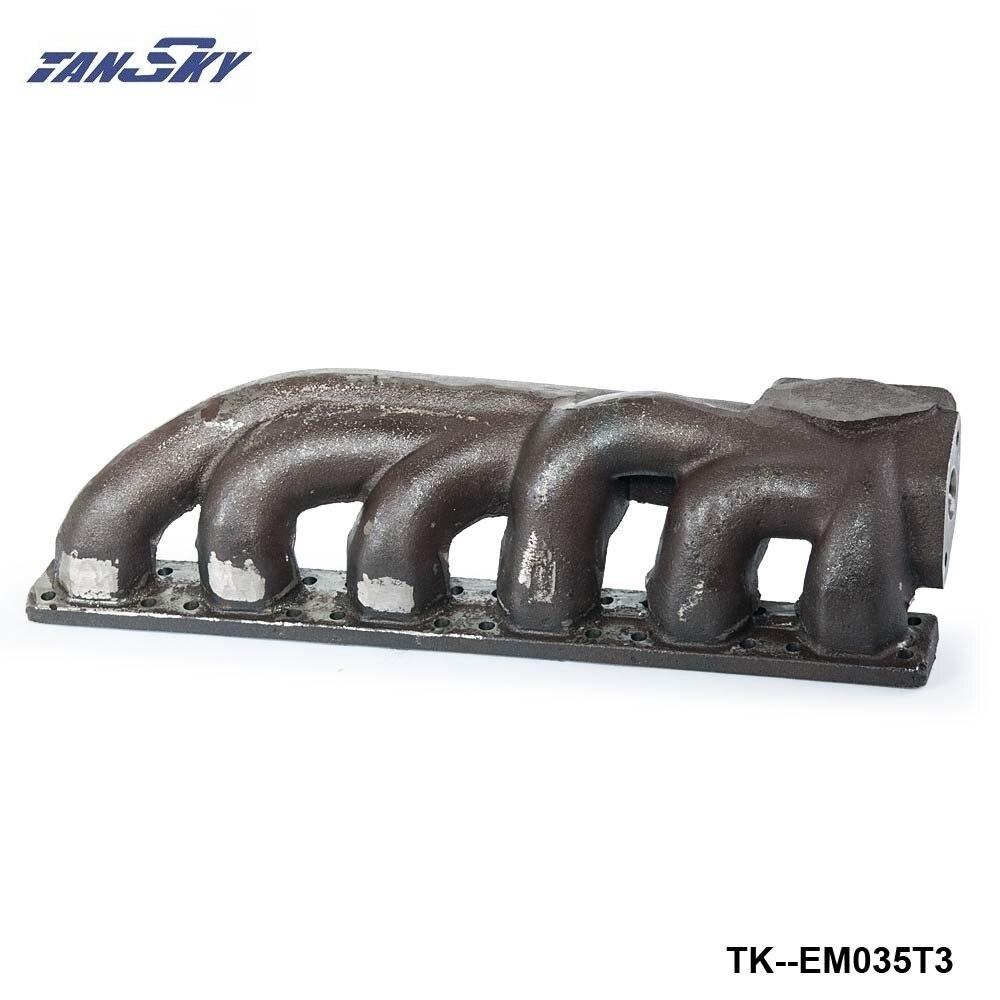 все цены на For BMW 323i 325i 328i 330i M3 E36 V6 T3 Iron Cast Exhaust Turbo Manifold 38mm Wastegate Flange TK-EM035T3 онлайн
