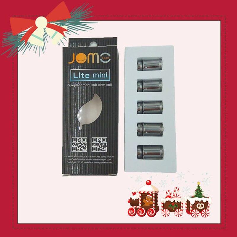 Jomotech Cigarette Électronique Verre Atomiseur Core Lite 35 w Réservoir Bobine E-cigarette Remplacement Évaporateur Bobine Accessoire Jomo-C8