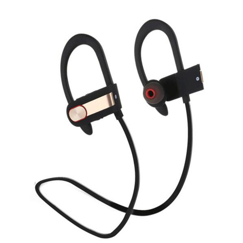 2016 New Best Quality Wireless Bluetooth Headset Bluetooth V4.1 Stereo Sports Running Ear Hook Earphone With Mic for All phones new dacom carkit mini bluetooth headset wireless earphone mic with usb car charger for iphone airpods android huawei smartphone