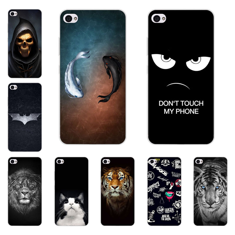 lenovo s90 case,Silicon Gossip fish Painting Soft TPU Back Cover for lenovo s90t protect Phone shell
