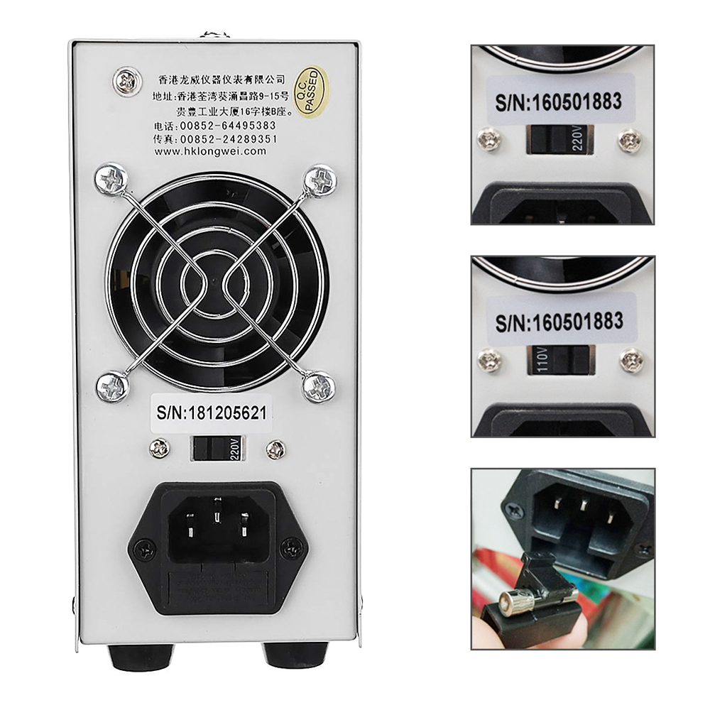 LW-K3010D New Upgrade 4 Digit Display Adjustable DC Power Supply 30V 10A Voltage Regulator Repair Rework Laboratory Power Supply