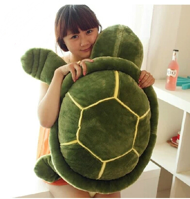 huge 80cm turtle plush toy tortoise doll throw pillow toy gift t8840 plush toy turtle large turtles doll big fluffy pillow doll birthday gift to men and women turtle about 55cm