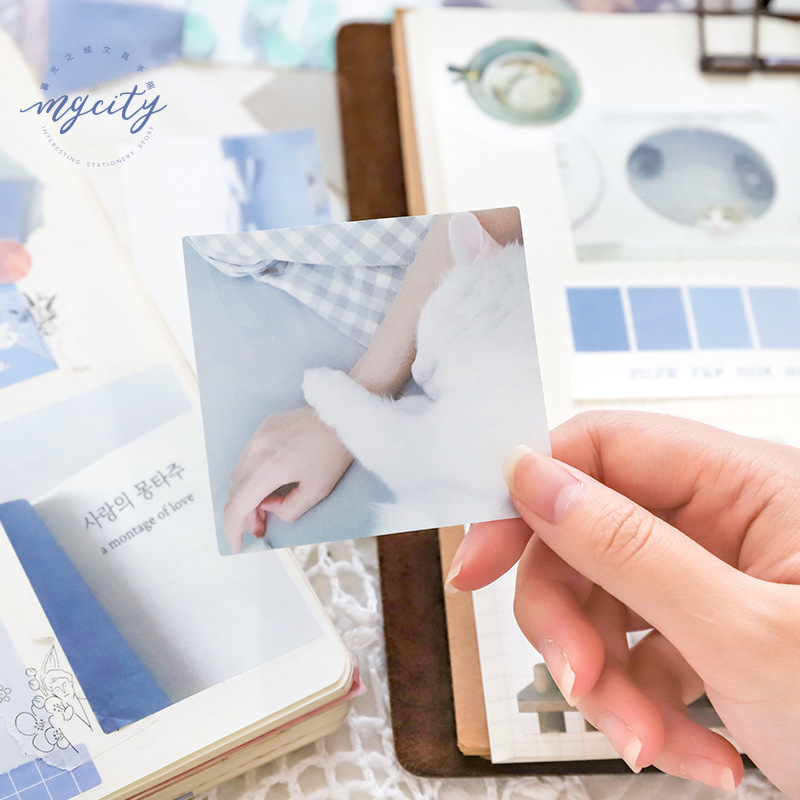 60 Pcs/pack Multi Colorful Smile Camera Decorative Stickers Scrapbooking Sticker Label Diary Stationery Album Stickers