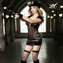 sexy police women dress hottie police costume cosplay uniform sexy women underwear tempt lingerie babydoll fancy cosplay Teddy dress