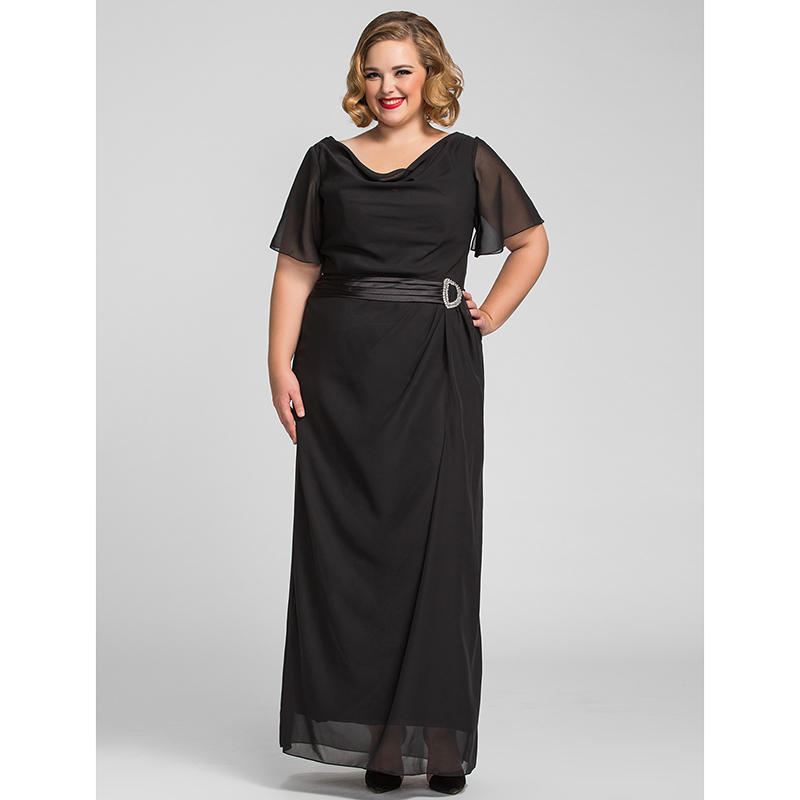 Cowl Neck Sheath Dresses: Aliexpress.com : Buy TS Couture Sheath / Column Cowl Neck
