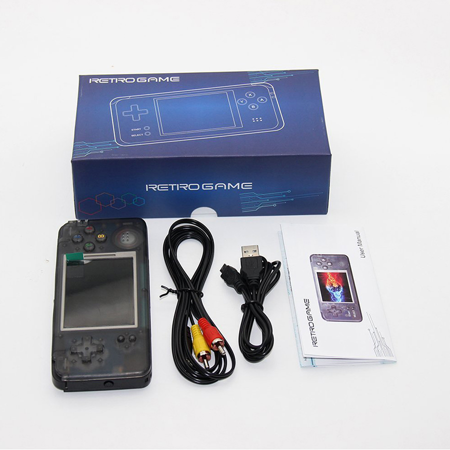 GB GARÇON Portable rétro jeu vidéo console console de jeu Portable 3.0 pouces TF 32 GB soutien eBook Enregistreur Intégré 800 jeux - 6