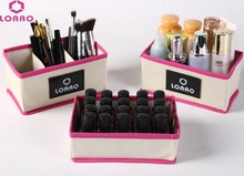LOAAO makeup organizer Home Storage boxes brush Organizers boxes cosmetic organizer(China)