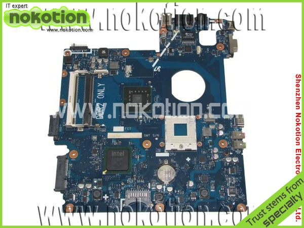 все цены на  NOKOTION BA92-04811A laptop motherboard for Samsung R510 integrated intel GM45 DDR2 Mainboard Full tested  онлайн