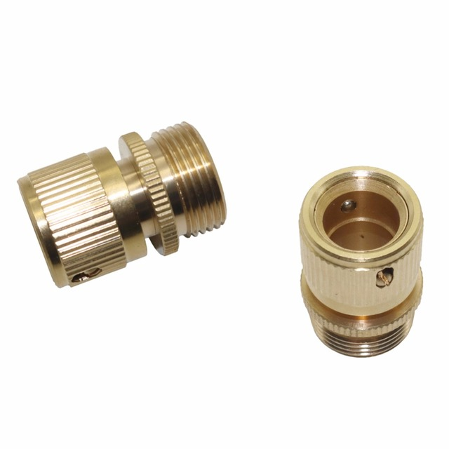 3 4 inch garden hose. 3/4 Inch Copper Male Thread Water Connection Special Connector For Car Wash Gun 3 4 Garden Hose O