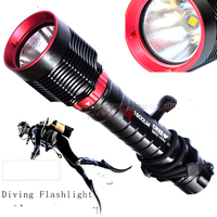 Diving Light CREE XH P70 LED 7200LM led Diving Flashlight Waterproof Lamp Scuba Submersible Underwater 100M Work Torch For 32650