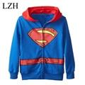 LZH children's outerwear baby girls Minnie Sofia Sweater hoodies sportswear kids Cartoon Hooded coat clothes hoody jacket