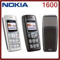 Оригинальный мобильный телефон Nokia 1600, GSM двухдиапазонный 900/1800, не привязан к оператору связи. Бесплатная доставка.