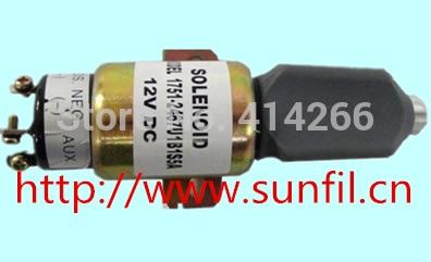 Fuel Shut Off Solenoid SA-4259 , SA-4259-12 1751-12A6U1B1S5 (12V 2 terminals)Fuel Shut Off Solenoid SA-4259 , SA-4259-12 1751-12A6U1B1S5 (12V 2 terminals)