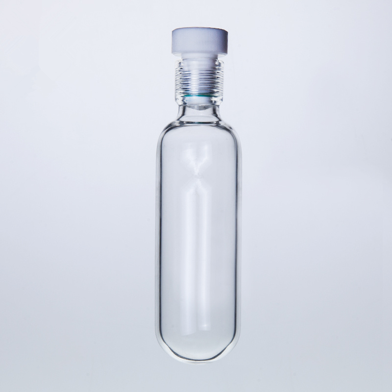 120ml High Pressure Bottle With #15 PTFE Thred,45MMX110MM Heavy Wall Vessel
