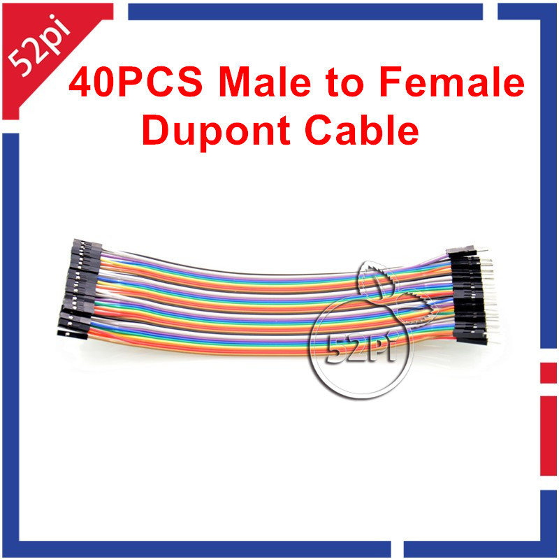 Male To Female 40pcs 20cm Dupont Cable Jumper Wire Dupont Line Dupont Line Free Shipping