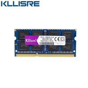 Image 2 - Kllisre ddr3l sodimm 4GB 8GB 1333 MHz או 1600 MHz 1.35 V PC3L מחשב נייד ram זיכרון