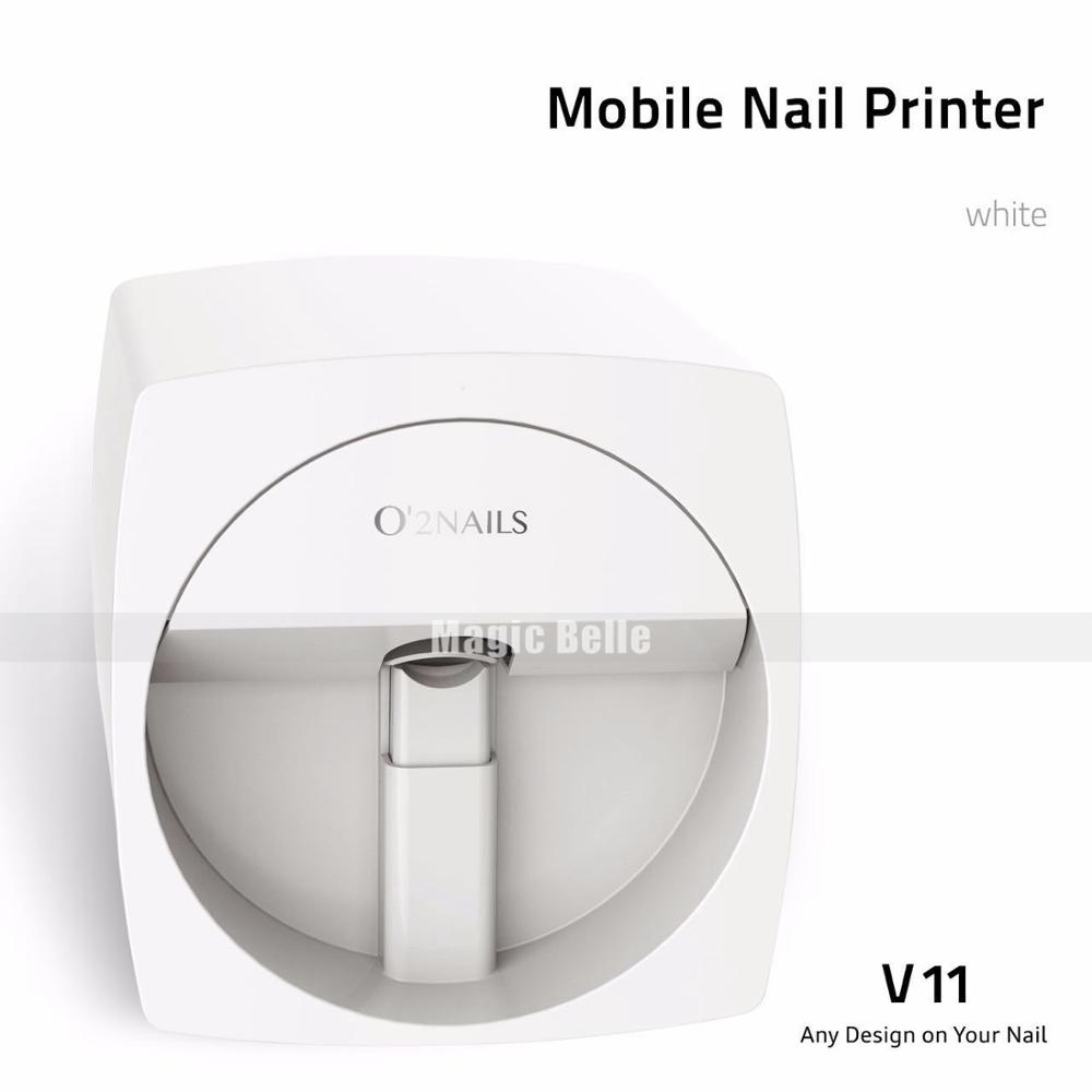 High Quality DIY Colorful O2Nails Printer Machine Digital Auto Nail Printer with WIFI Function coffee printer food printer inkjet printer selfie coffee printer full automatic latte coffee printe wifi function