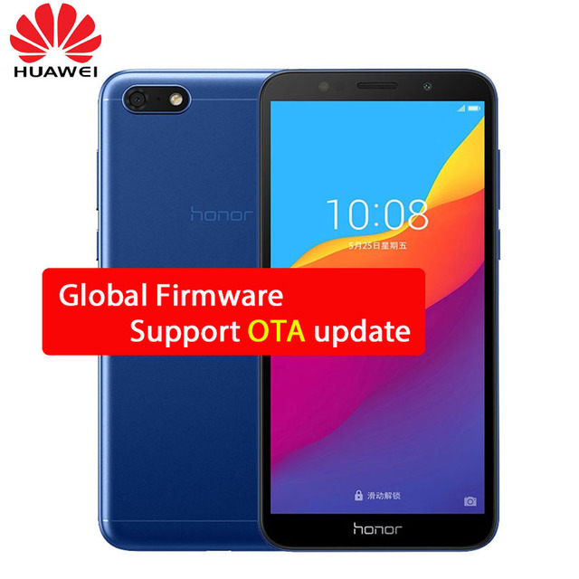 "Huawei Y5 Prime 2018 2GB 16GB Honor Play 7 4G LTE Mobile Phone Quad Core 5.45"" 1440*720P 5.0MP 13.0MP Android 8.1 Smartphone"