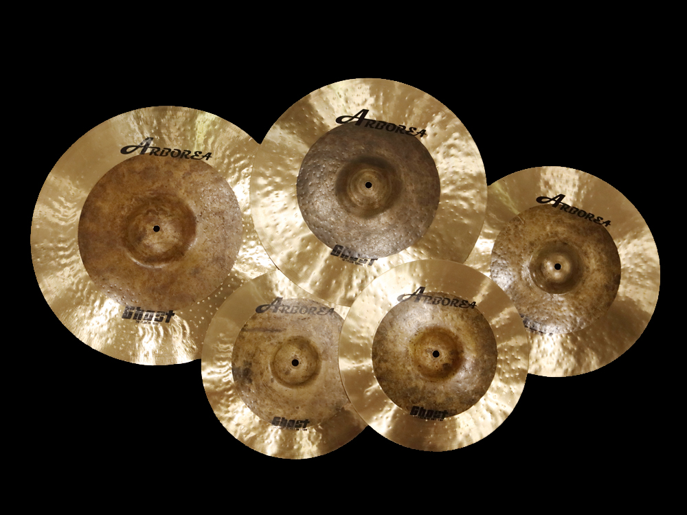 Arborea b20 cymbal ghost series 20' crash b20 butcher series 16 crash cymbal for sale