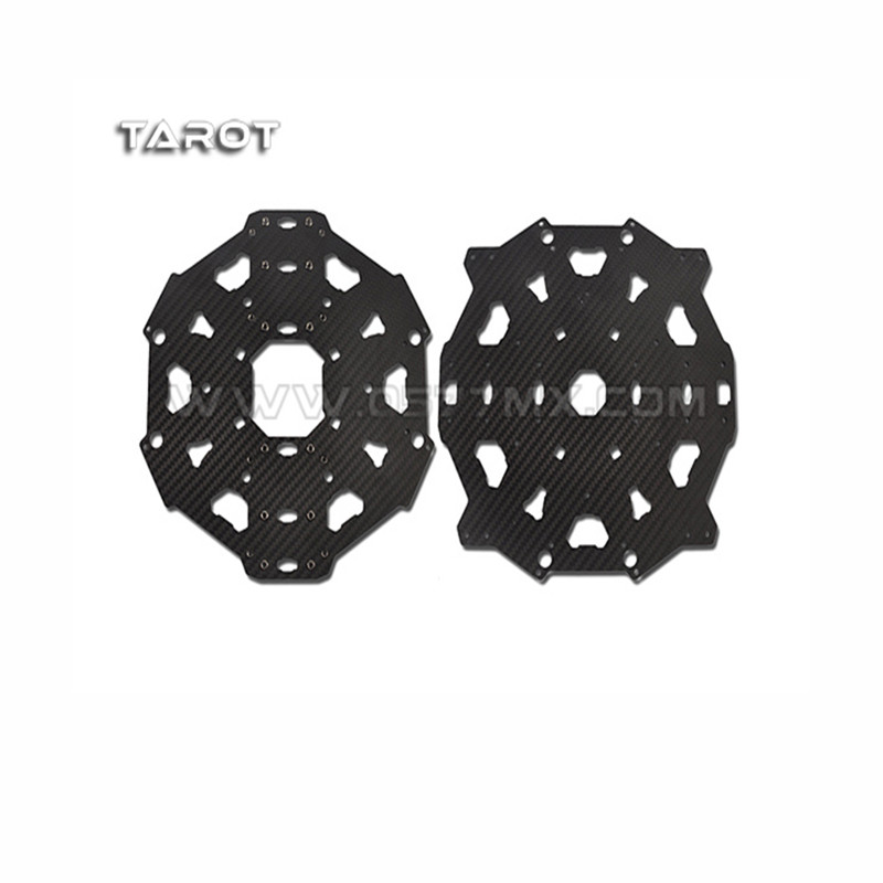 Tarot-RC T810/T960 Folding 6-axis Main Body Carbon Fiber Cover Plate TL9604 tator rc x4 x8 quad x6 hexa copter carbon fiber main plate upper cover board tl4x006 tl6x003 tl8x019