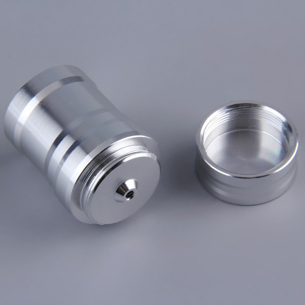 Portable Mini 10ml Alcohol Burner Lamp Aluminum Case Lab Equipment Heating