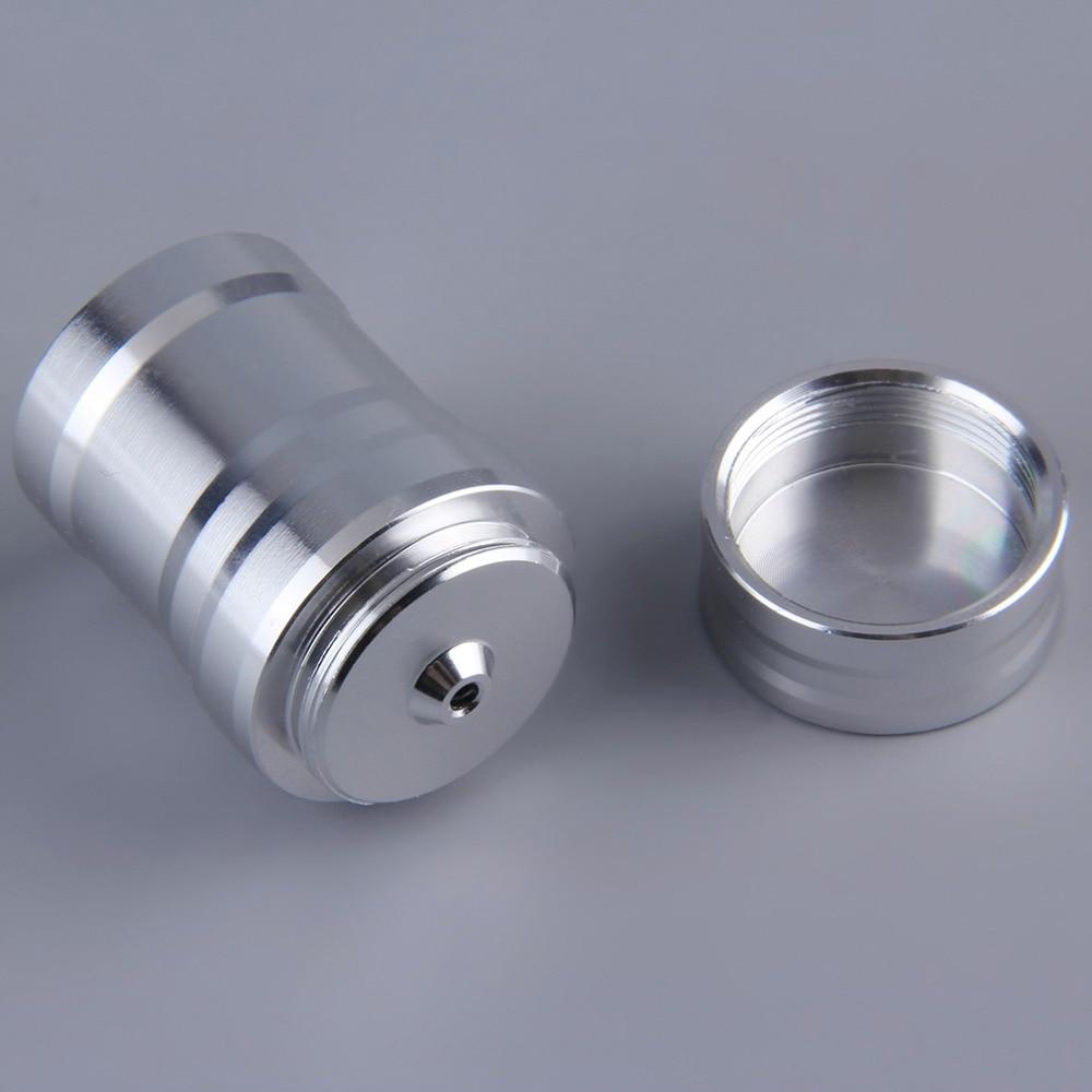 Portable Mini 10ml Alcohol Burner Lamp Aluminum Case Lab Equipment Heating