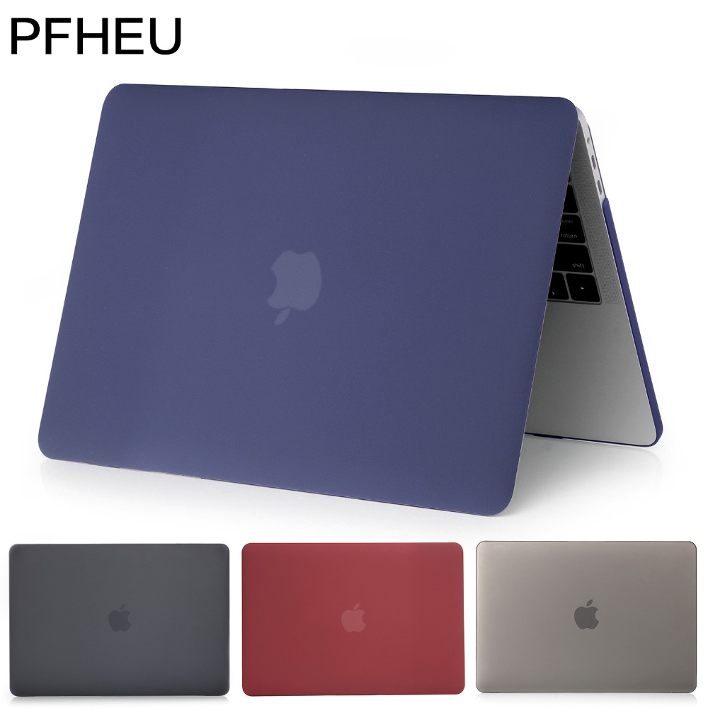 PFHEU,Laptop Case For Apple MacBook Pro Retina Air 11 12 13 15 inch,for Mac book Air 13 case,New Pro 13 15 case with Touch Bar