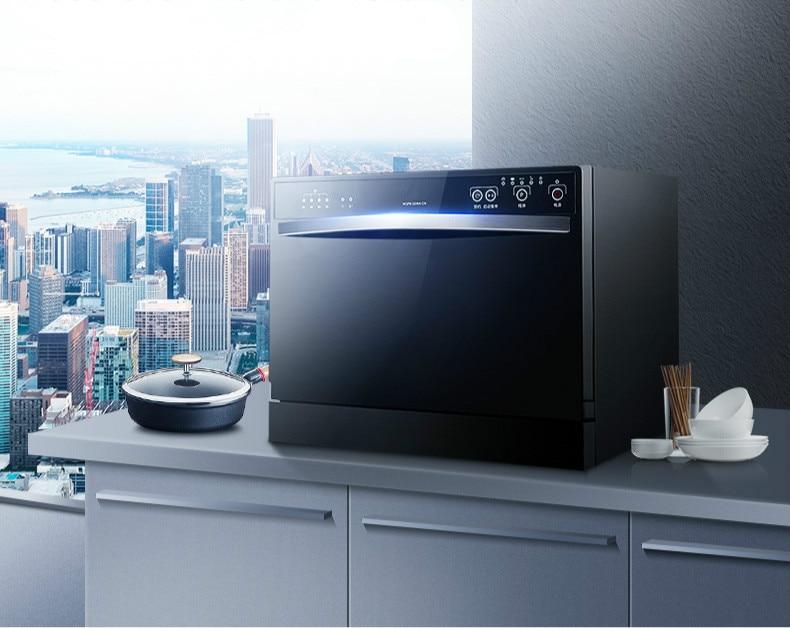 Dishwasher Household Desktop. Built-in Dual-use Dishwasher.