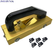 Golden Champagne PVC Floor Construction Tools Manual Aluminum Alloy Slotter With 5 Blades