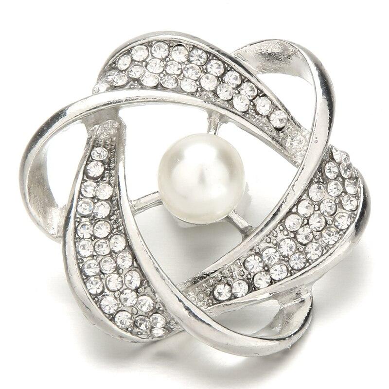 10pcs/lot 2 colour wholesale Superior quality Snap Jewelry Gold Silver Metal Snap Buttons Fit 18mm snap Bracelet bangles KZ158