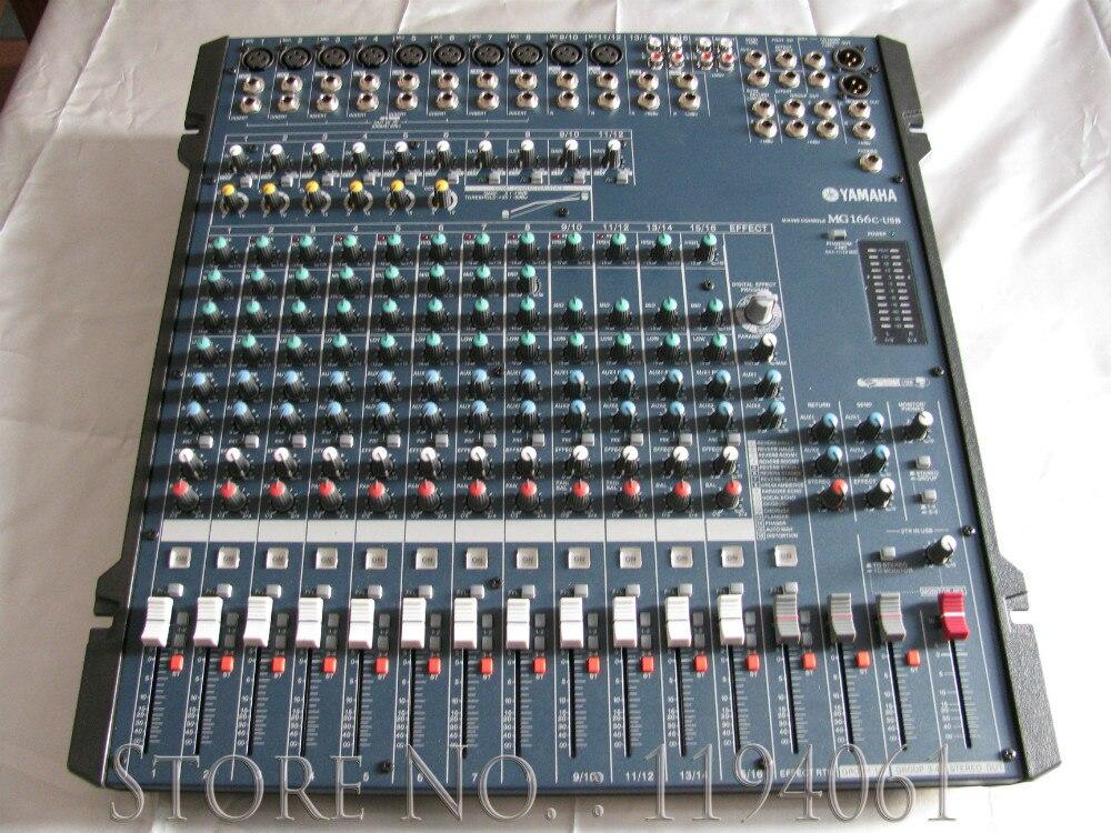 yamaha professional audio mixer yamaha mg166cx usb live analog mixer with spx digital multi. Black Bedroom Furniture Sets. Home Design Ideas