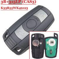 Freies verschiffen (1 stück) Neue Remote Autoschlüssel Fob karte 315 LPMHz ID7944 Chip CAS3 System für BMW CAS3 E60.E61. E90.E92. E93.E70.71.72