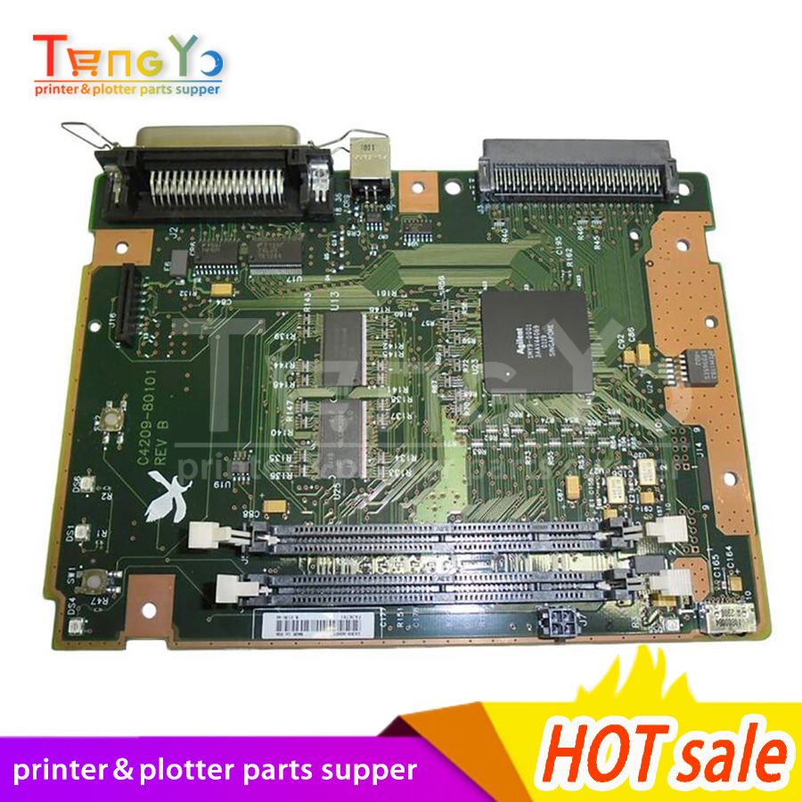 Free shipping 100% tested  laser jet for HP2200 Formatter Board C4209-61002 printer part on sale