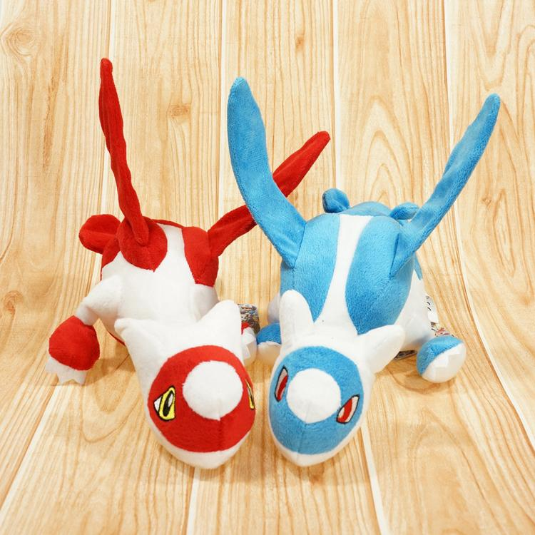 New Arrival Pokemon Latias and Latios Stuffed Plush Toys Doll With Tag 12