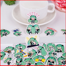 25 pcs Green hair girl personalized scrapbook Stickers scrapbooking material sticker happy planner decoration craft