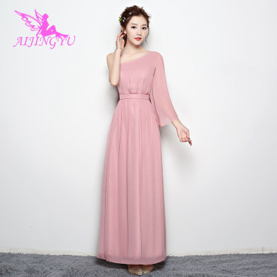 2018 Girl Sexy Women's Gown Prom Dress Plus Size Bridesmaid Dress BN713