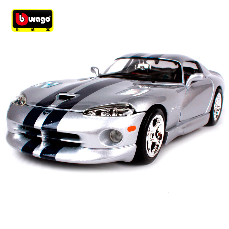 Maisto Bburago 1:18 DODGE VIPER GTS COUPE Sports Car Diecast Model Car Toy New In Box Free Shipping 12041 maisto bburago 1 18 1959 jaguar mark 2 ii diecast model car toy new in box free shipping
