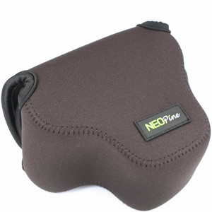 Image 4 - Portable Protective Neoprene Soft Inner Case Cover camera bag for Canon EOS M50 M6 Mark II with 15 45mm lens Digital Camera ONLY