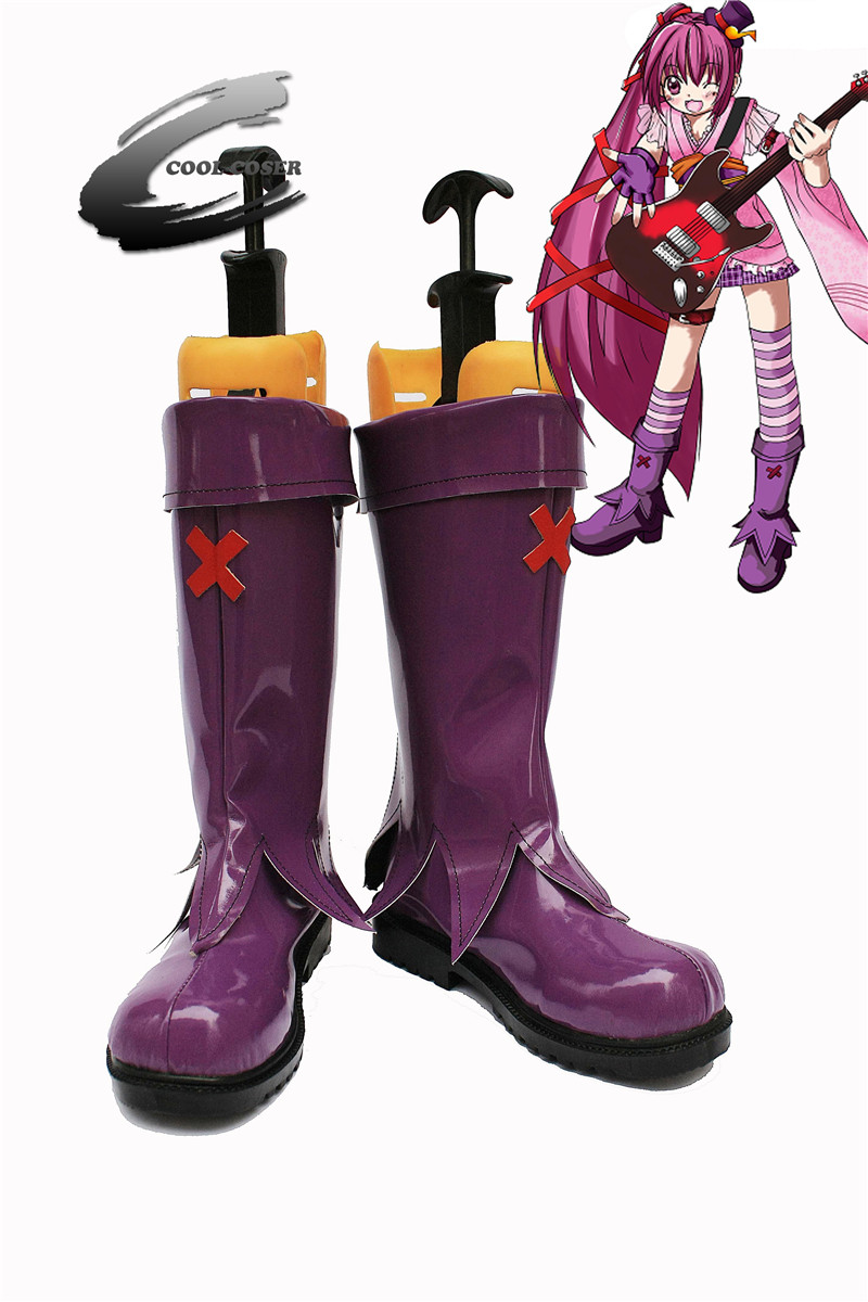 Japanese Anime Taiwan Japanese Cara Ok Created The Cartoon Character Mina Channel Cosplay Shoes Mm961 Custom Made Anime Boots Japanese Anime Shoes Boots Bootsboots T Aliexpress