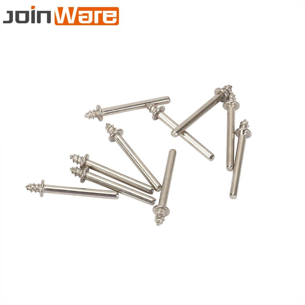 10Pcs Tapered Screw Mandrel Thread 3mm Shank Mini Drill Rotary Tool Polishing Accessories