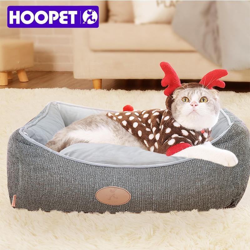 HOOPET Pet Маленькие Средние товары для собак товары для кошек кровать для собак четыре сезона кошачье гнездо