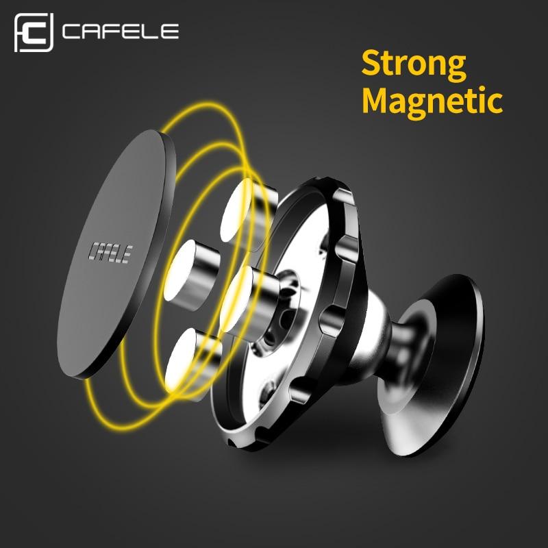 CAFELE Universal Magnetic Dudukan Telepon Mobil 360 Rotasi GPS - Aksesori dan suku cadang ponsel - Foto 3