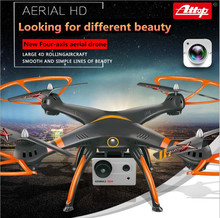 2017 large RC drone A18 2.4G 54CM headless mode WIFI real time remote control quadcopter with 720P camera attitude hold vs K70