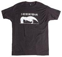 T-REX NO COMO PUSH-UPS | Divertido Trabajar Fuera, cruzar el Tren, gimnasio Camisa Camiseta Del Verano Novedad de la Historieta de La Camiseta de Manga Corta Para Hombre