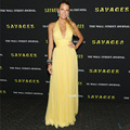 Blake Lively dress Yellow red carpet dress celebrity gowns 2017 vestido de festa longos Gossip Girl Dresses