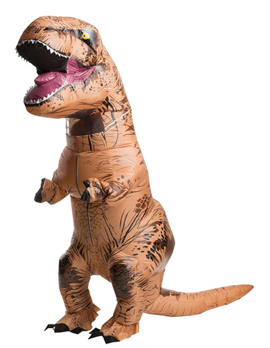 Party Adult t rex Dinosaur Costume Cosplay Fantasy Inflatable Dinosaur T REX Blowup Mascot Halloween Costumes for Women Man ...