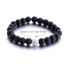 2Pcs/Set Couples Distance Bracelet Classic Natural Stone
